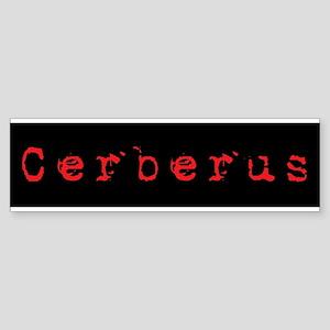 Cerberus Bumper Sticker