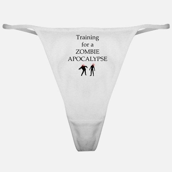Training for Zombie Classic Thong