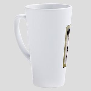 Basset Hound Christmas 17 oz Latte Mug