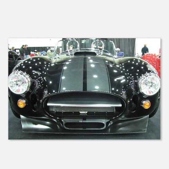 Black car Postcards (Package of 8)