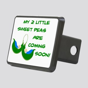 MATERNITY - BABY - TWIN BO Rectangular Hitch Cover