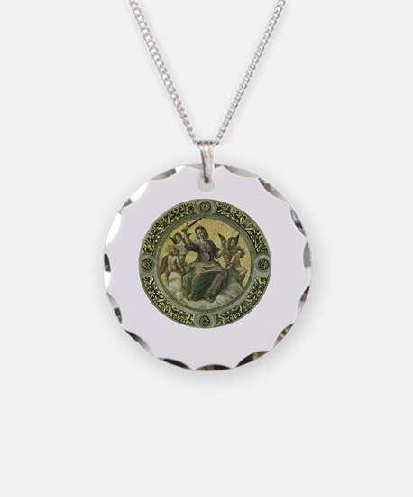 Justice by Raphael Necklace Circle Charm