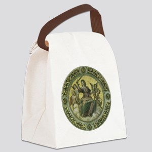 Justice by Raphael Canvas Lunch Bag