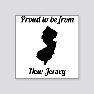 Proud To Be From New Jersey Sticker