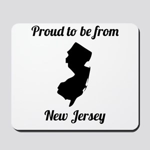 Proud To Be From New Jersey Mousepad