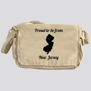Proud To Be From New Jersey Messenger Bag