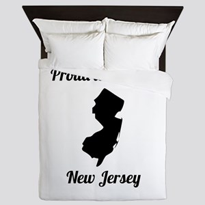 Proud To Be From New Jersey Queen Duvet
