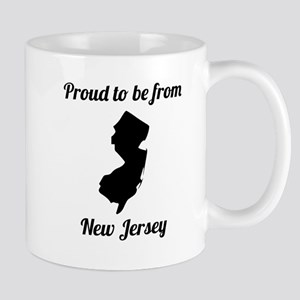 Proud To Be From New Jersey Mugs