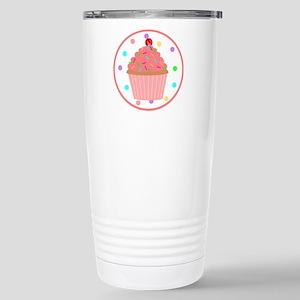 Sweet As A Cupcake Stainless Steel Travel Mug