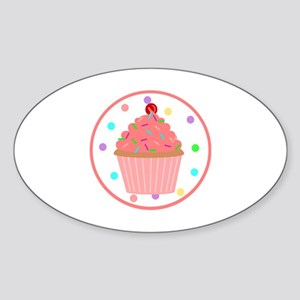 Sweet As A Cupcake Sticker