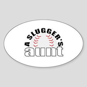 Baseball aunt Sticker