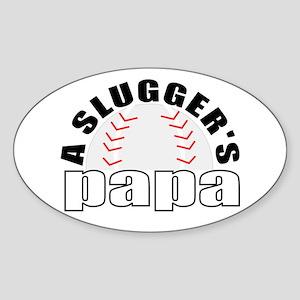 Baseball grandpa Sticker