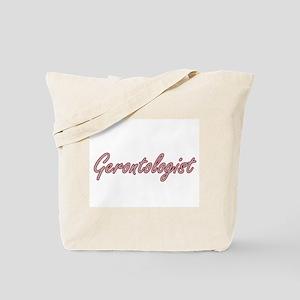 Gerontologist Artistic Job Design Tote Bag