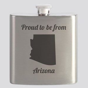 Proud To Be From Arizona Flask