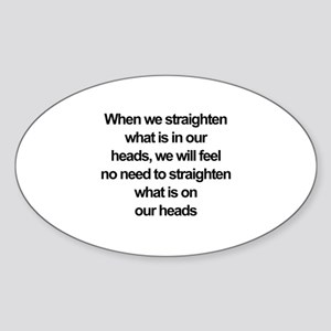 African American quote Sticker