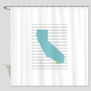 I Love San Diego Shower Curtain