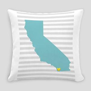 I Love San Diego Everyday Pillow