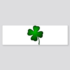 Four Leaf Clover Bumper Sticker