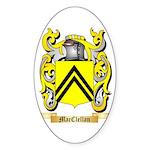 MacClellan Sticker (Oval 50 pk)