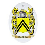 MacClellan Ornament (Oval)