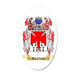 MacCleane Oval Car Magnet