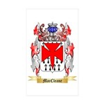 MacCleane Sticker (Rectangle 50 pk)