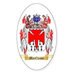 MacCleane Sticker (Oval 10 pk)