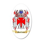 MacCleane 20x12 Oval Wall Decal