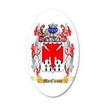 MacCleane 35x21 Oval Wall Decal