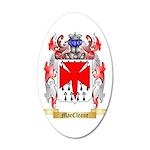 MacCleane 35x21 Oval Wall Decal