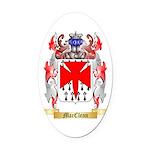 MacClean Oval Car Magnet