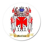 MacClean Round Car Magnet