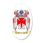 MacClean 20x12 Oval Wall Decal