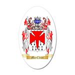 MacClean 35x21 Oval Wall Decal