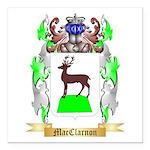 MacClarnon Square Car Magnet 3
