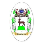MacClarnon Sticker (Oval 50 pk)