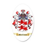 MacClancy Oval Car Magnet