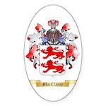 MacClancy Sticker (Oval 10 pk)