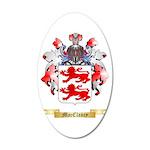 MacClancy 20x12 Oval Wall Decal