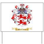 MacClancy Yard Sign