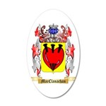 MacClanachan 20x12 Oval Wall Decal