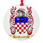 Maccia Round Ornament