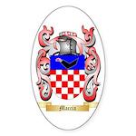 Maccia Sticker (Oval)