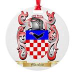 Macchio Round Ornament
