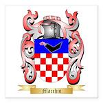 Macchio Square Car Magnet 3