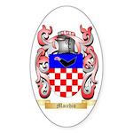 Macchio Sticker (Oval 10 pk)