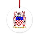 Macchio Ornament (Round)