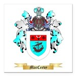 MacCeevy Square Car Magnet 3