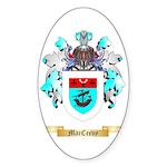 MacCeevy Sticker (Oval 10 pk)
