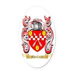 MacCauly Oval Car Magnet